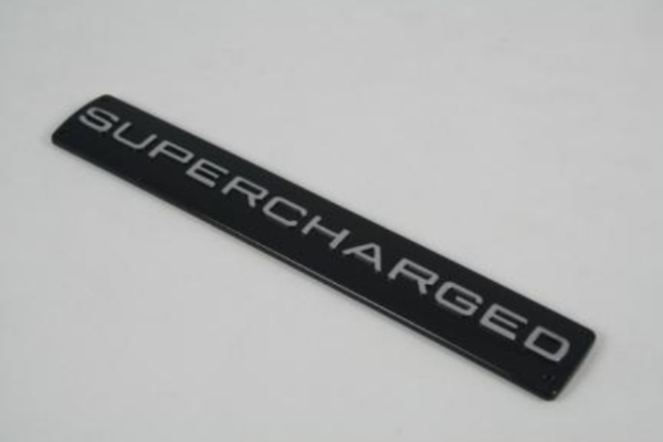 Range Rover 'SUPERCHARGED' Badge